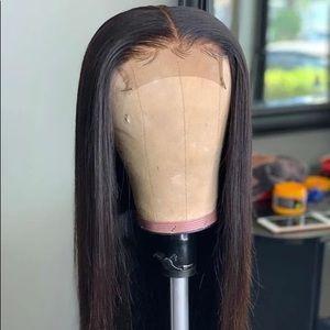 Black Silky Straight Virgin Hair Wig